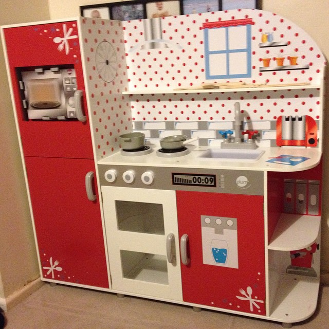 Tonight we have been building this beauty. The kids are going to be SO excited when they wake up!