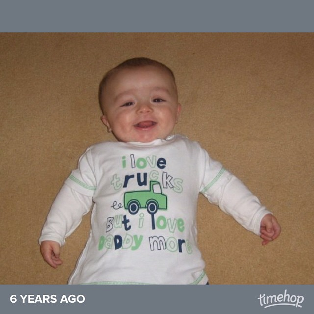 Little chubby cheeked Jacob! #timehop