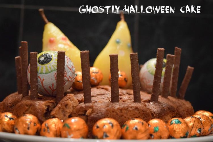 Ghostly Halloween cake recipe