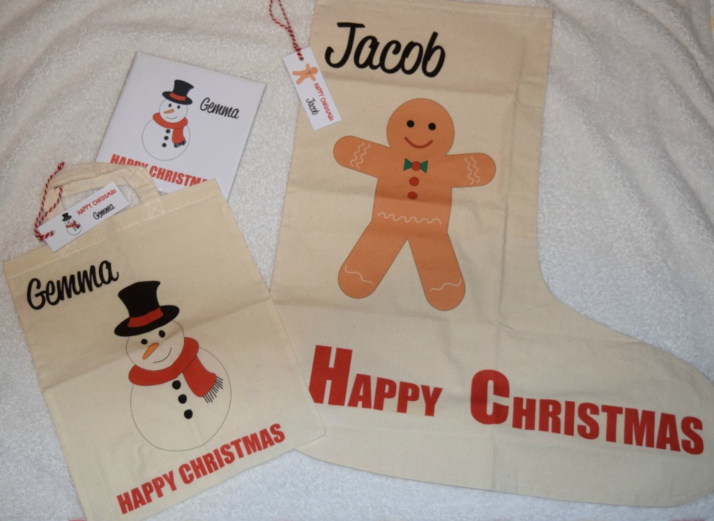 Mummy and Mimi Christmas bag/stocking