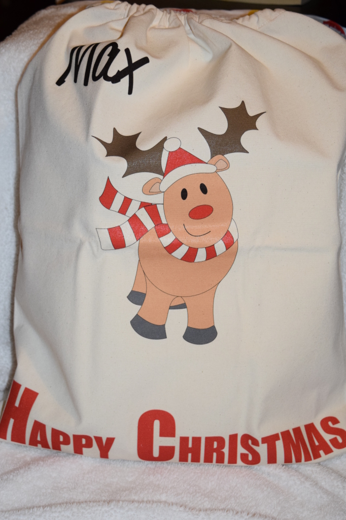 Mummy and Mimi Santa Sack
