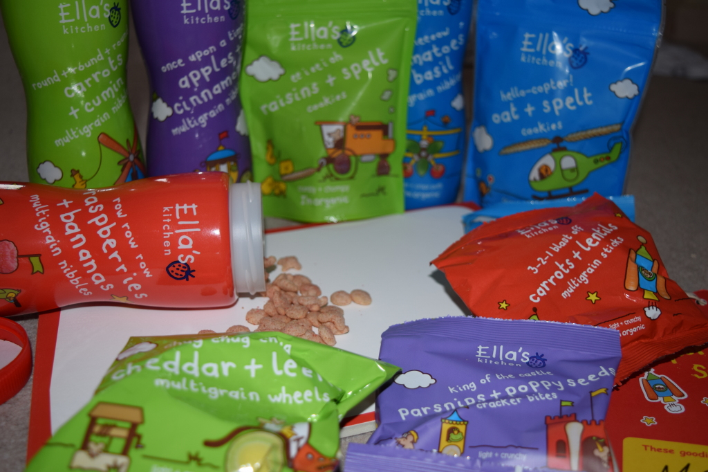 Ella's Kitchen toddler snacks