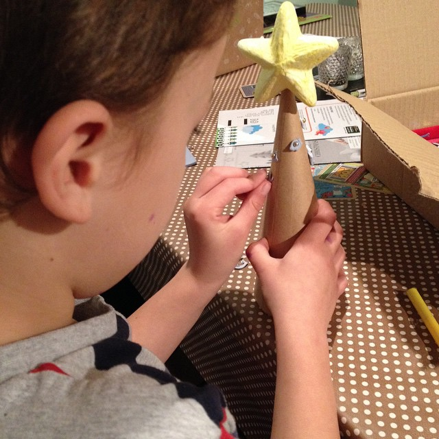 Creating with this months #bostikbloggers box @tots100