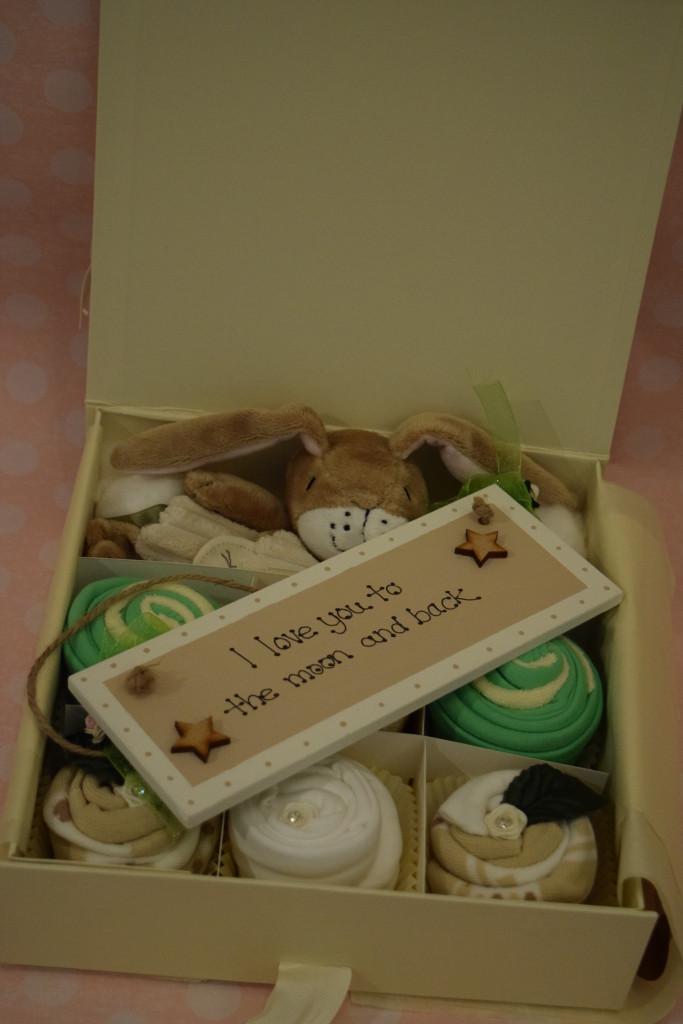 Corporate Baby cupcake gift box