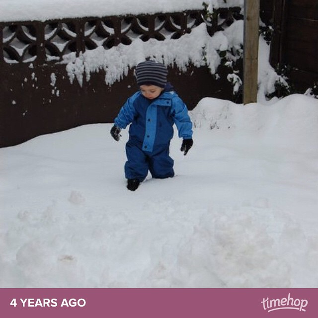 Ooooh want snow like this again! #timehop