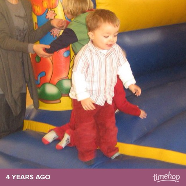 He's so small! #timehop