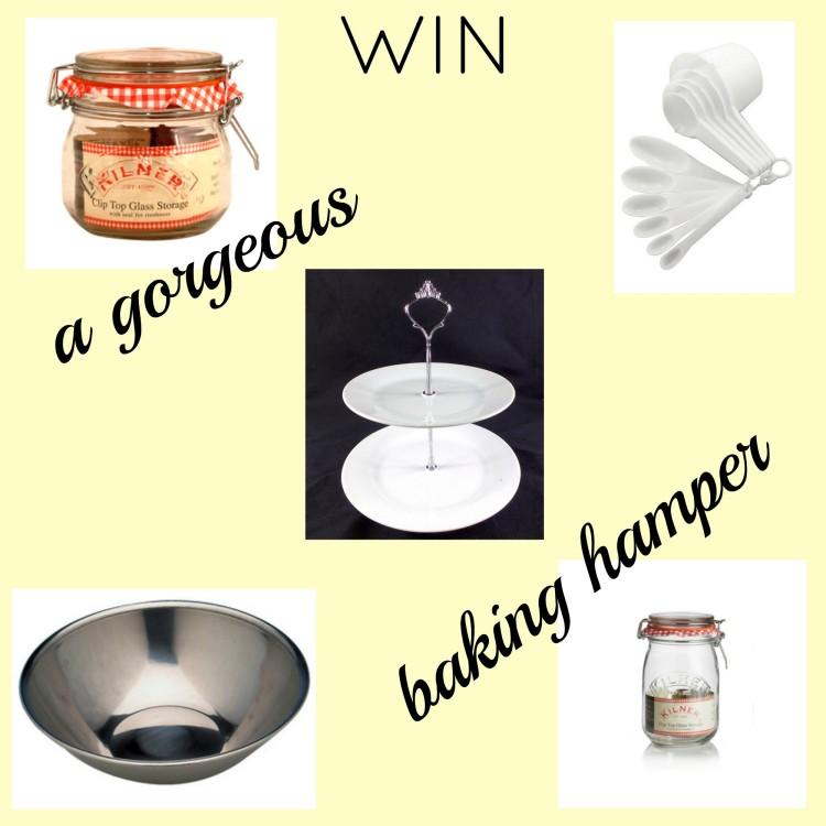 Giveaway: Win a baking hamper