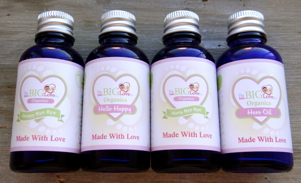 The Little BIG Love Co organic oils