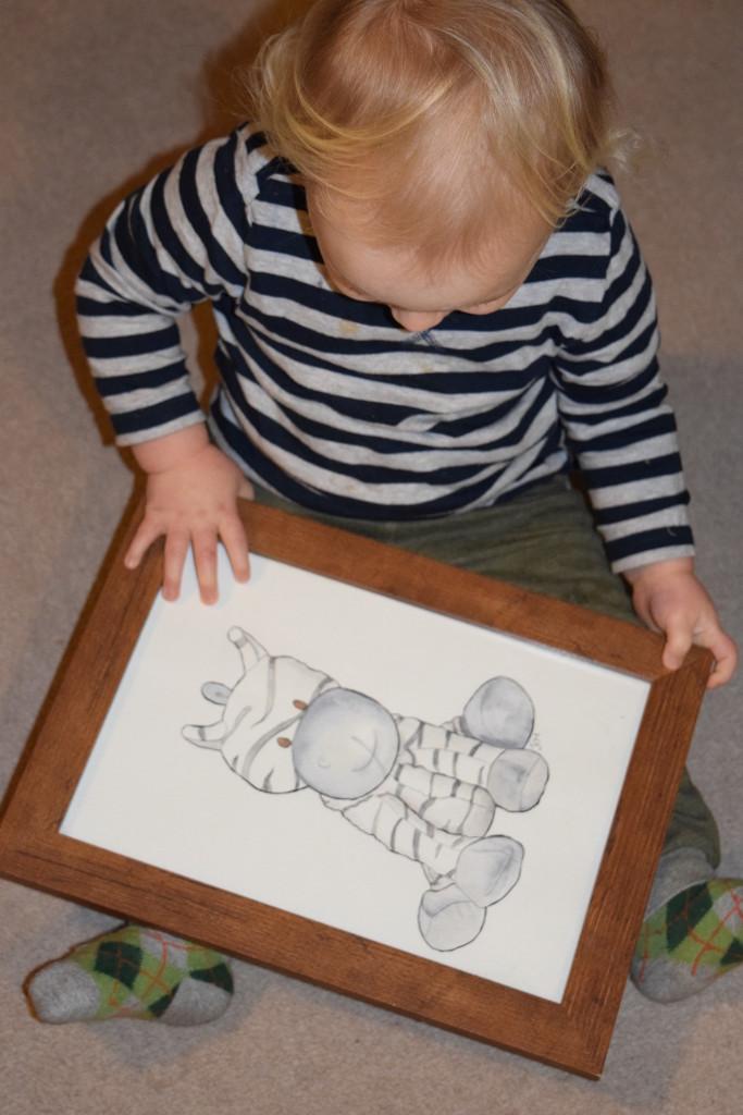 Jenny Causebrook Moss toy portrait