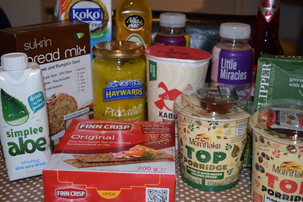 Degustabox food box