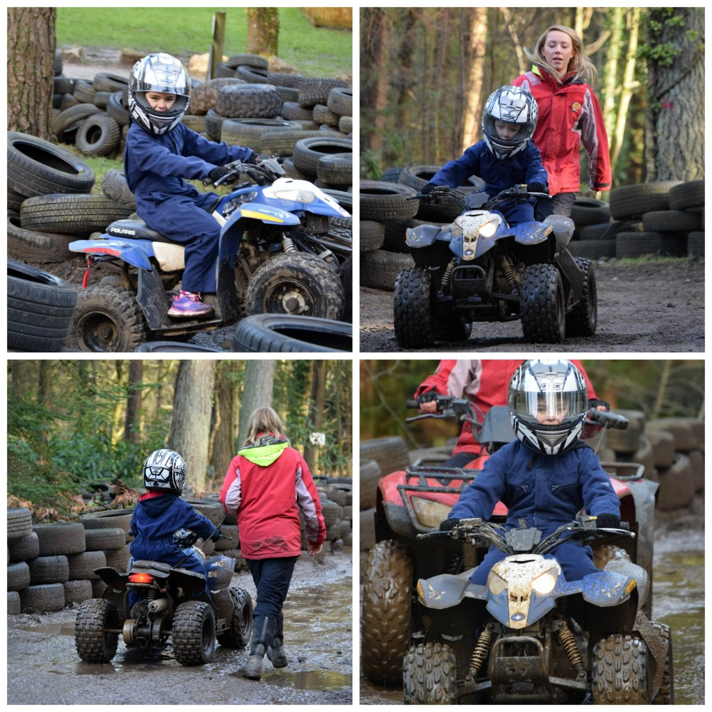 Center Parcs junior quad bikes