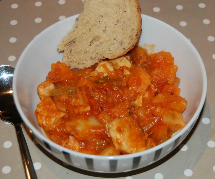 SriLankan chicken and potato stew recipe