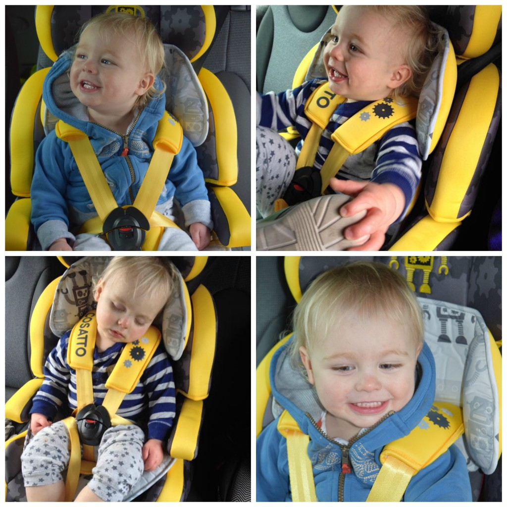 Cosatto Zoomi car seat review