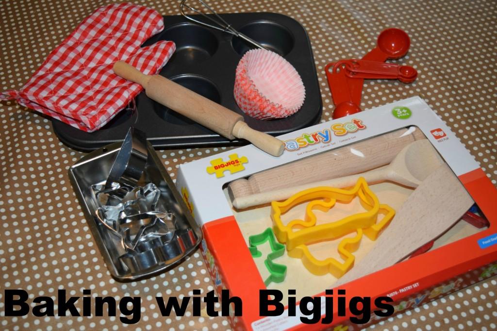Bigjigs baking sets