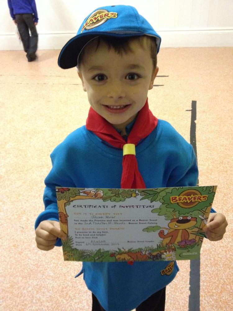 Scouts teaches children life skills