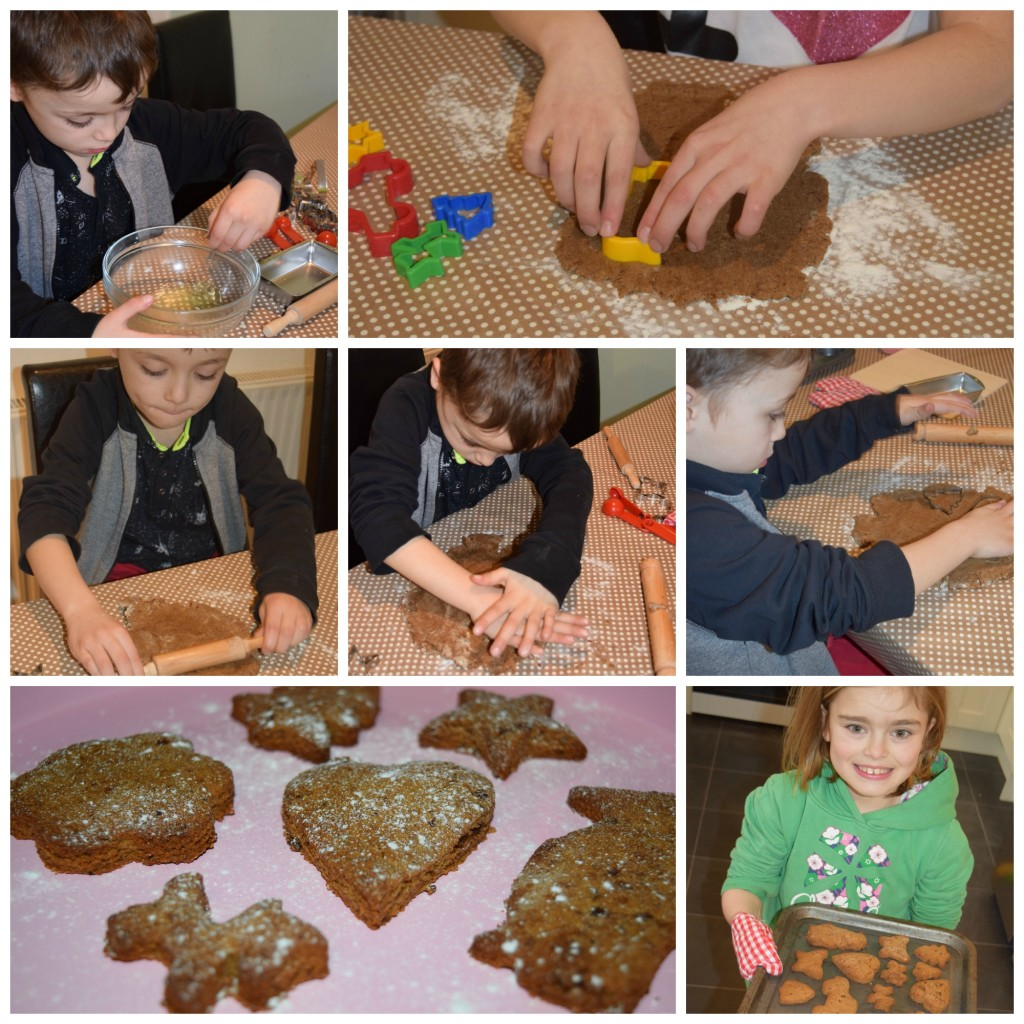 Baking with Bigjigs - ginger biscuits