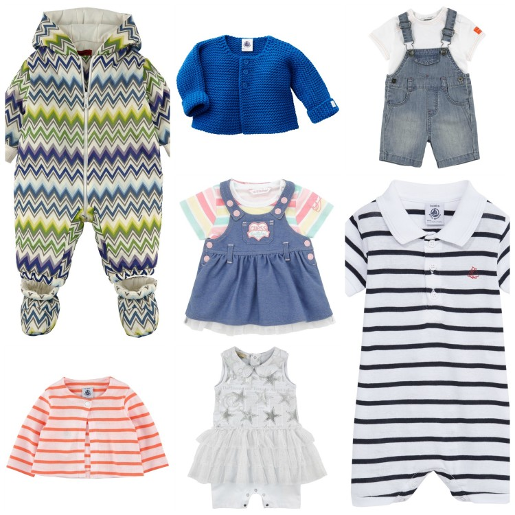 Choosing clothes for baby