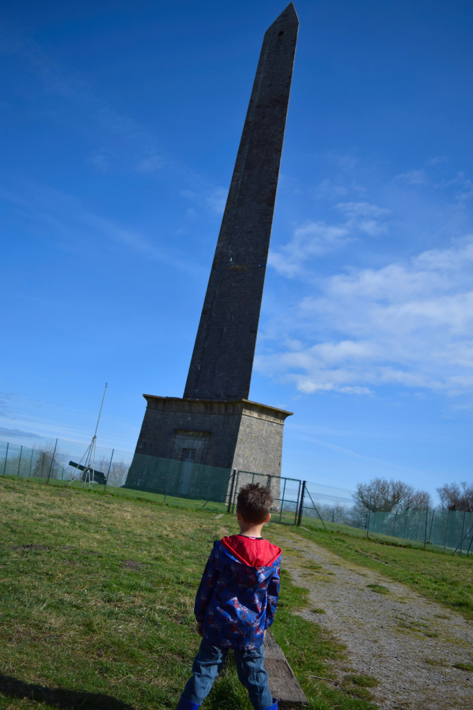 Walk to Wellington Monument
