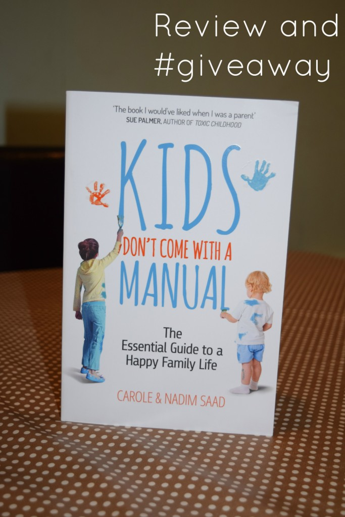 Kids don't come with a manual review and giveaway