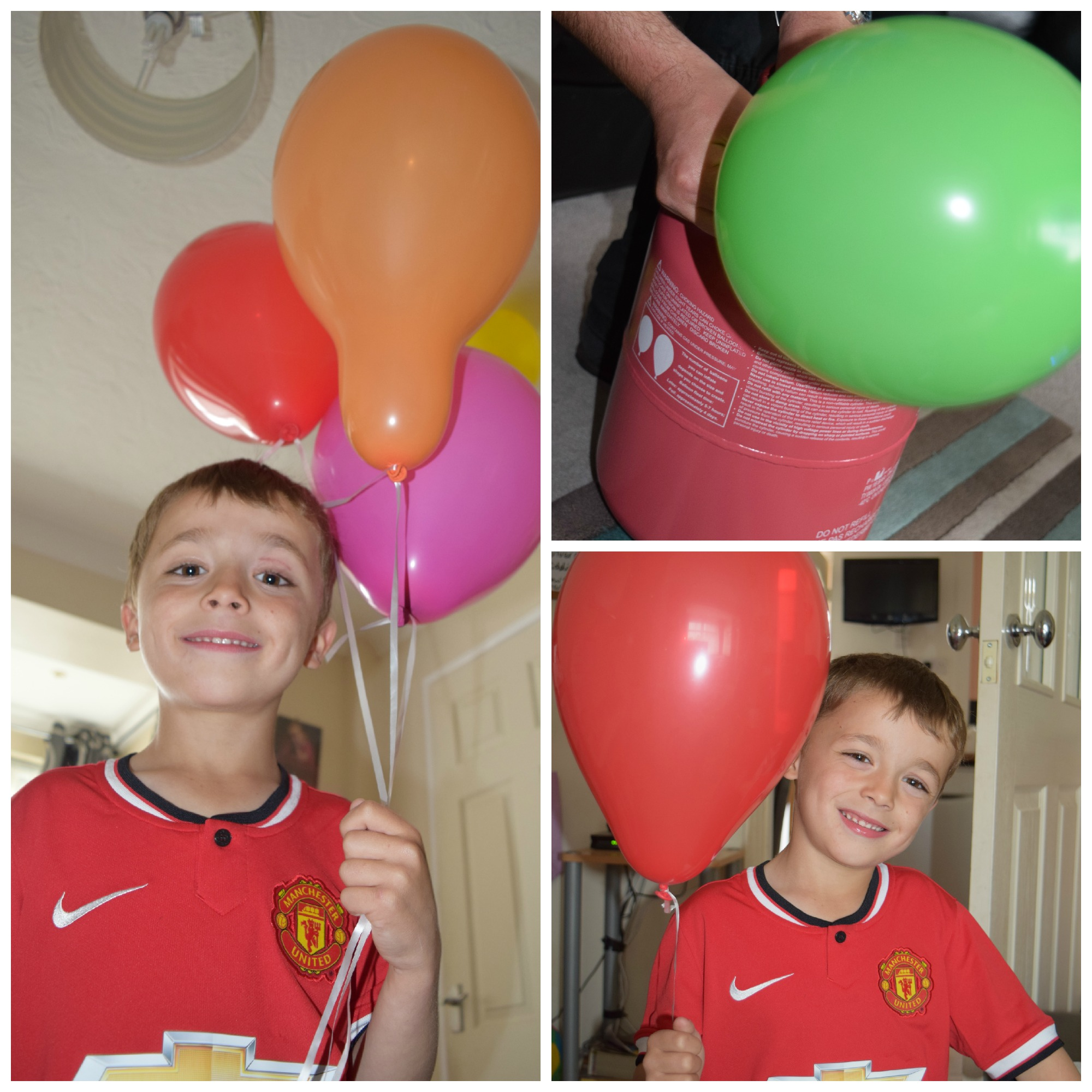 Jacob's 7th birthday with Balloon Time - Family Fever