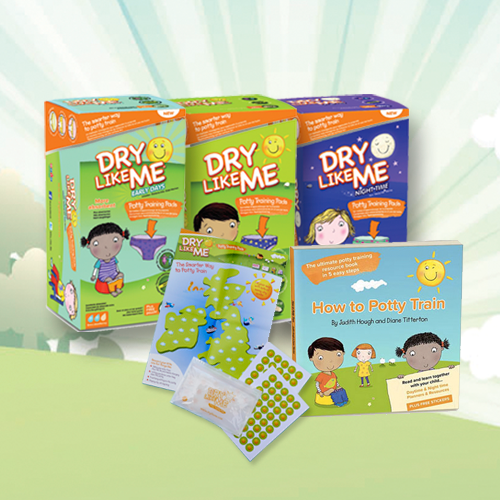 Giveaway: Win a Dry Like Me potty training pack