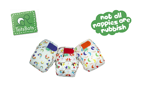 Real Nappy Week 2015: Win a set of Tots Bots elements nappies!