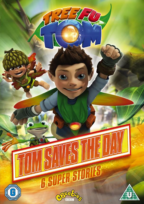 Giveaway: Win a Tree Fu Tom DVD