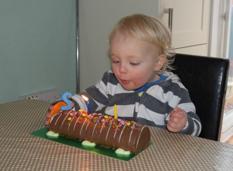 Max turns 2