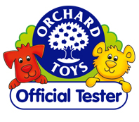 Orchard Toys tester