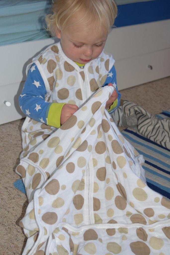 Slumbersac muslin sleeping bag