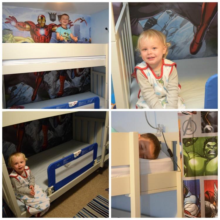 GLTC Darwin bunk beds