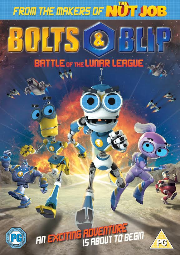 Giveaway: Win a new Bolts & Blip DVD