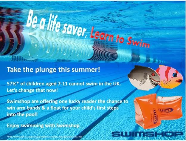 Win kids swim sets from Swimshop