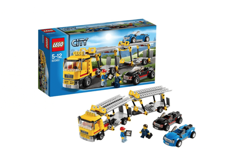 Lego City vehicle transporter
