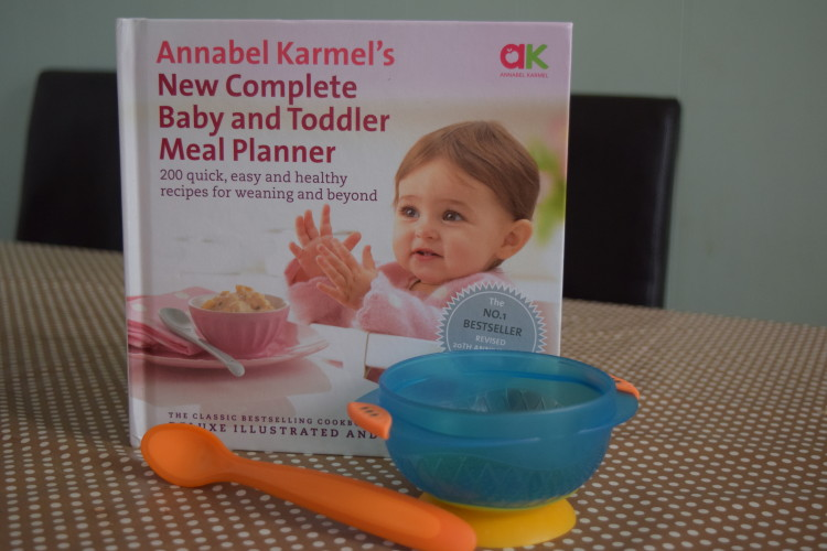 Giveaway: Annabel Karmel Baby & Toddler meal planner