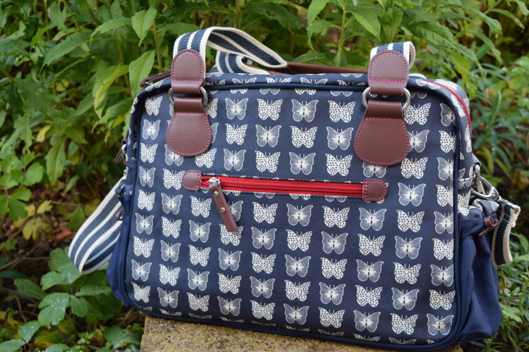 Review: Pink Lining Not So Plain Jane changing bag