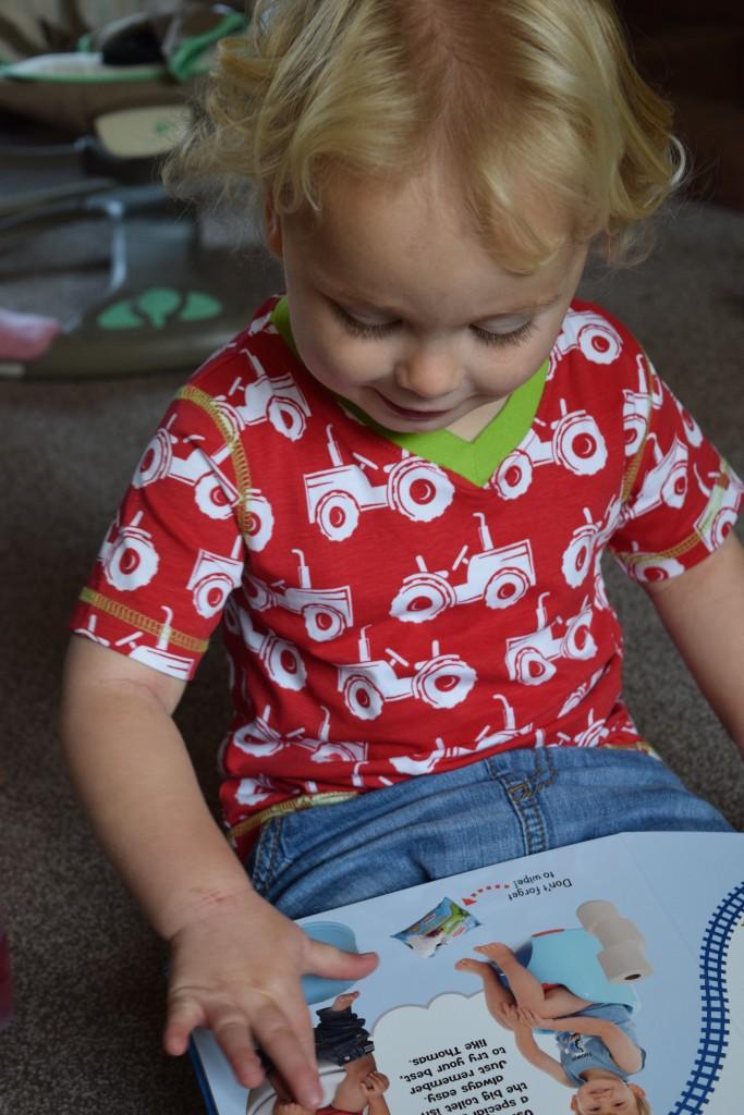 Thomas & Friends potty training book