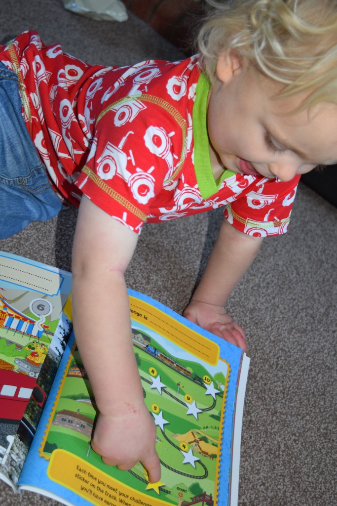 Thomas & Friends potty training book