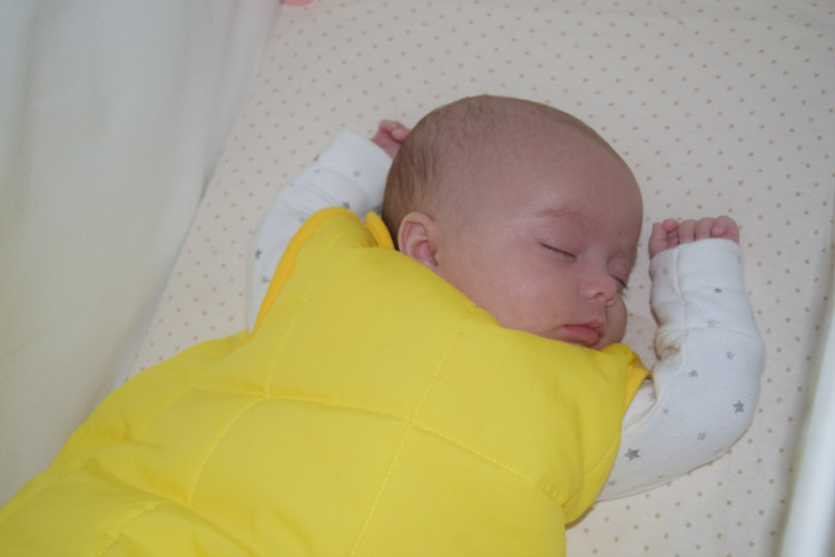 Review and giveaway: My Baby's Name Is sleeping bag
