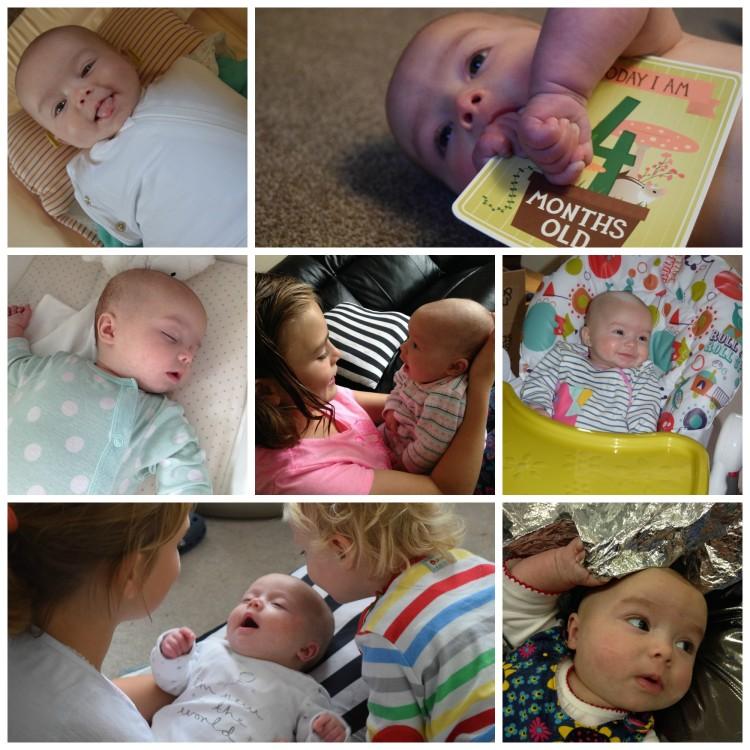 Eliza, 4 months