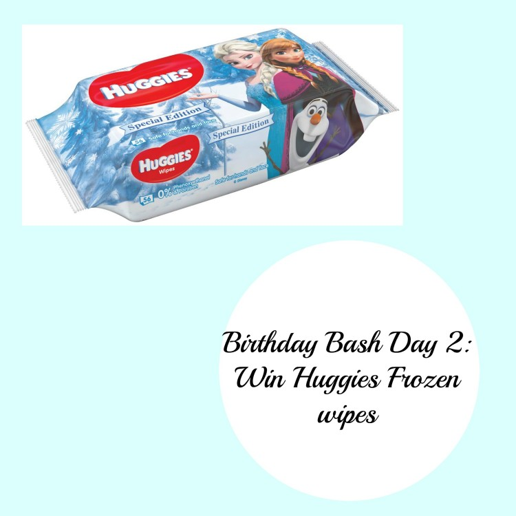 Huggies Frozen wipes