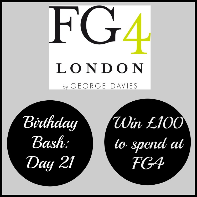 Birthday Bash: Day 21 – Win £100 to spend at FG4