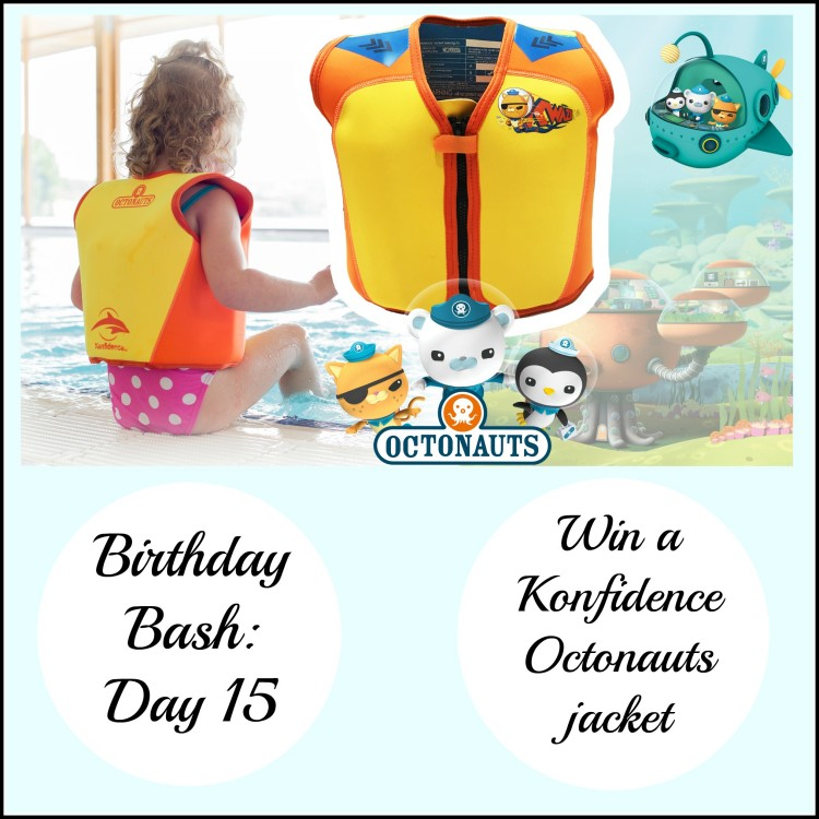 Birthday Bash: Day 15 – Win a Konfidence Octonauts jacket