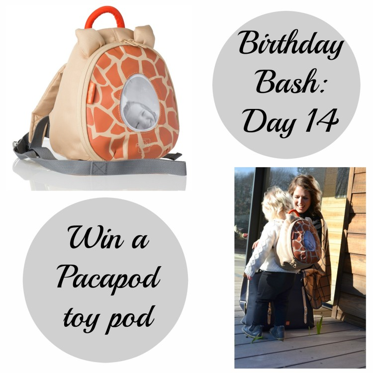 Birthday Bash Day 14: Win a Pacapod toy pod