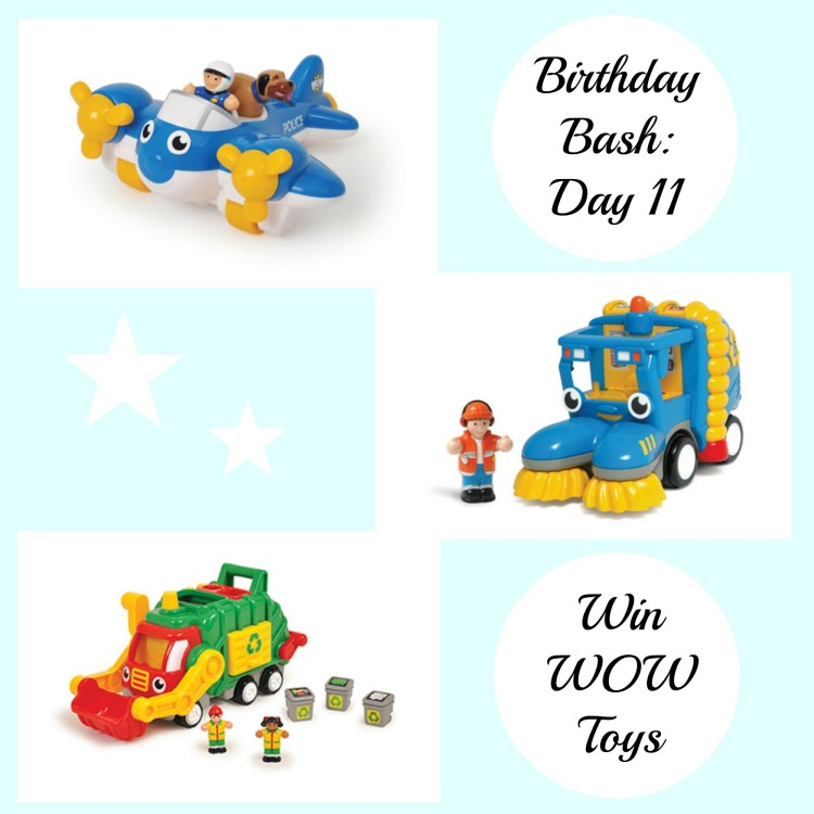 Birthday Bash: Day 11 – Win a set of WOW toys