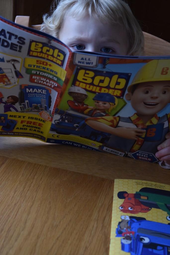 Bob the Builder comic