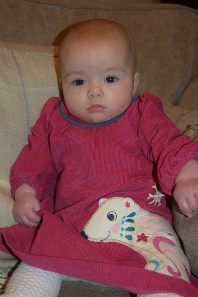 Review: Frugi Little Isla cord dress