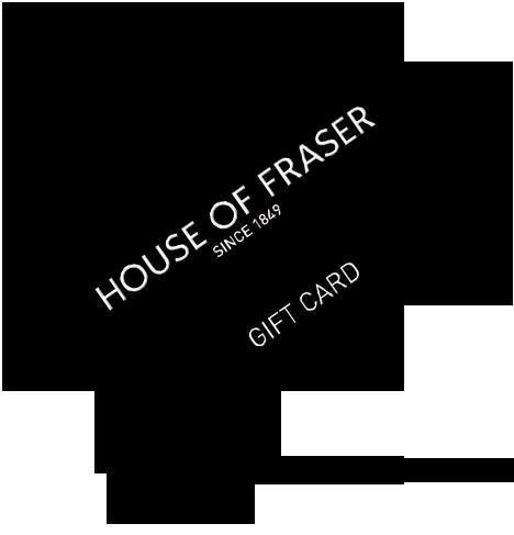 House of Fraser gift voucher