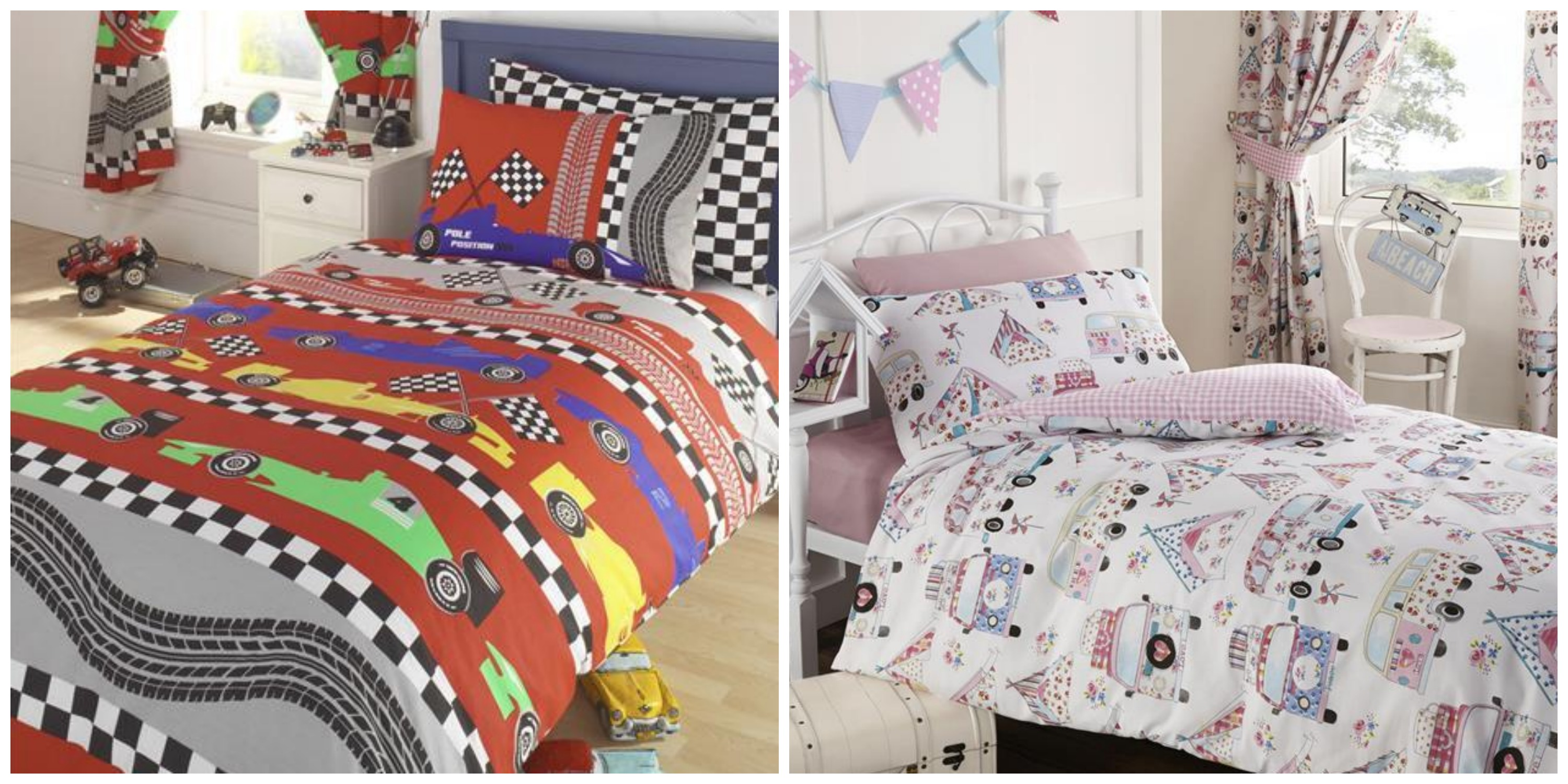 Giveaway: Win a kids bedding set - Family Fever