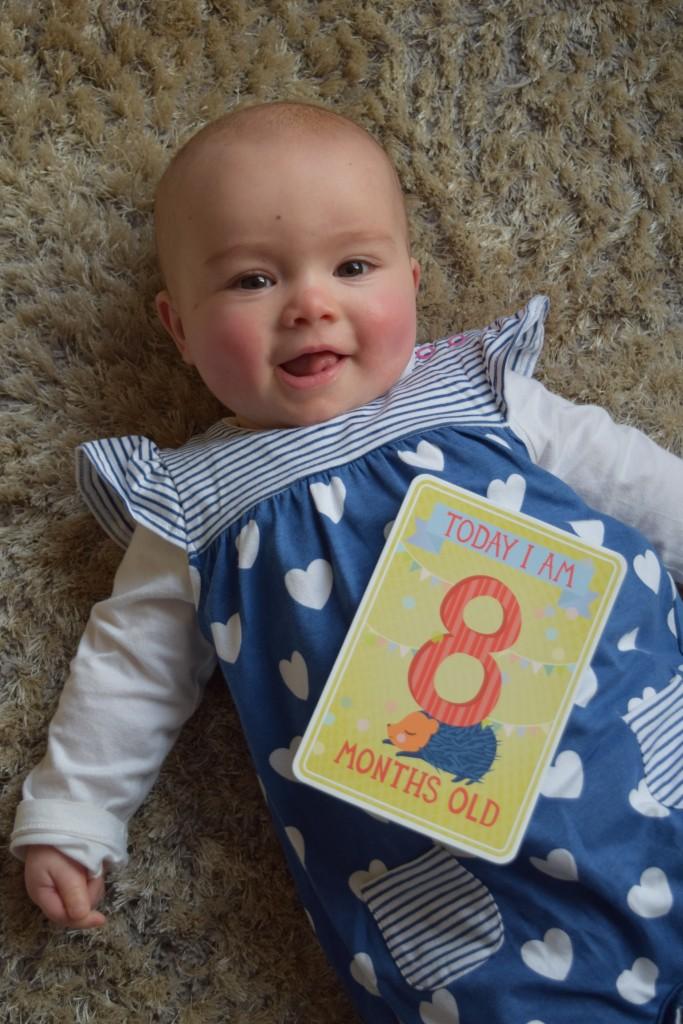 Eliza: 8 months old